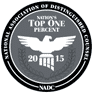 National Association distringuished councel top one percent