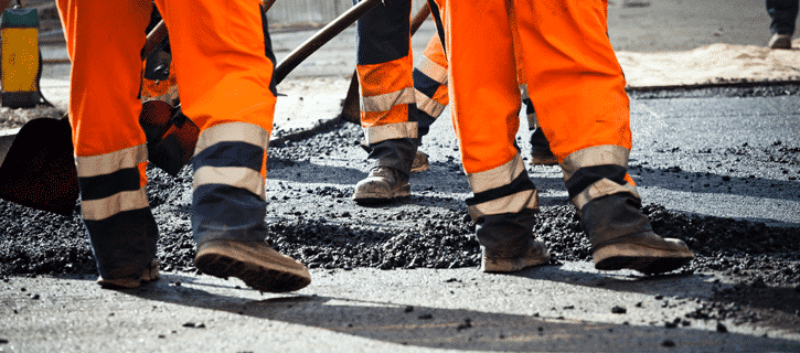road work accidents