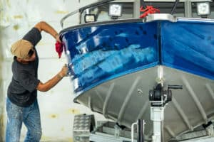 Boat accident Costly Repairs to Hull