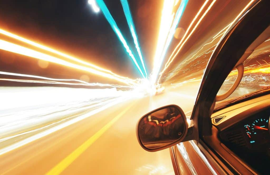 Fatal speeding related accidents