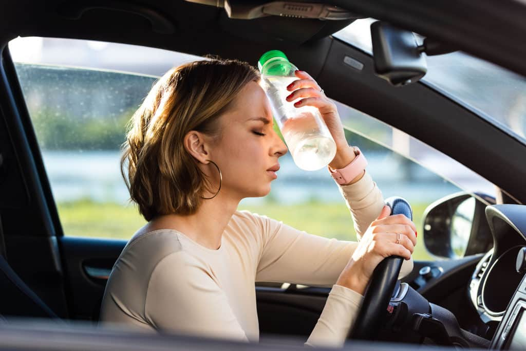Sleepy Driving Accident Causes